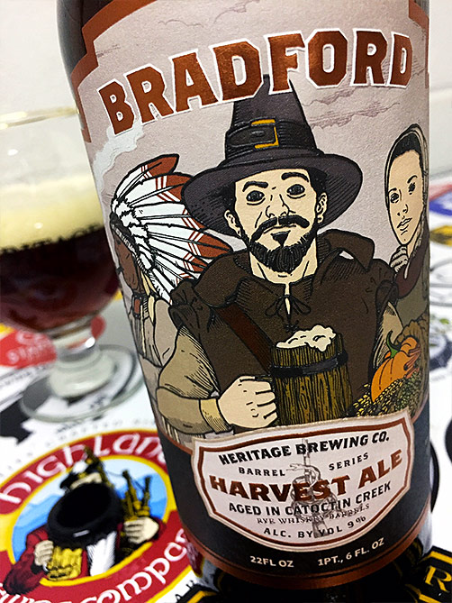 Heritage Brewing Barrel-Aged Bradford