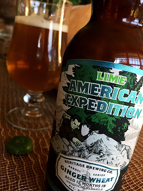 Heritage Brewing Tequila Barrel-Aged American Expedition photo