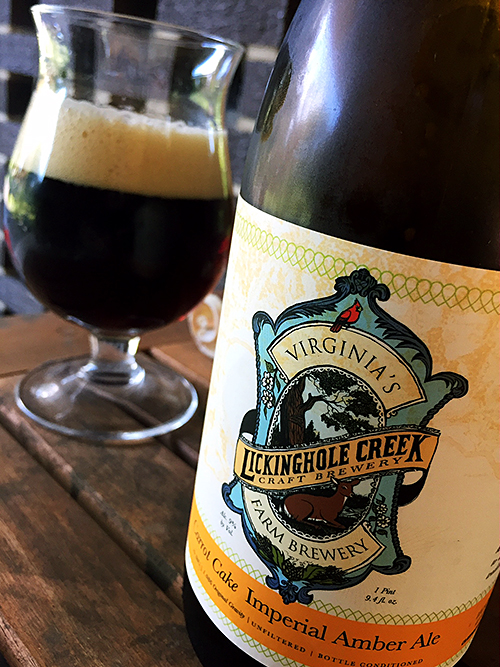 Lickinghole Creek Carrot Cake Imperial Amber Ale