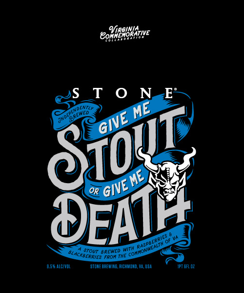 Stone Brewing, Ardent Craft Ales and Hardywood Park Launch Give Me Stout or Give Me Death photo