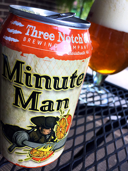 Three Notch'd Minute Man IPA