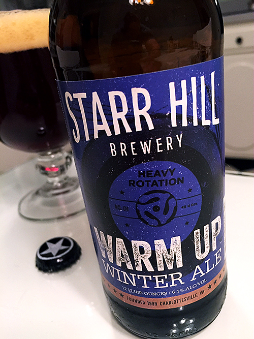 Starr Hill Warm Up Winter Ale