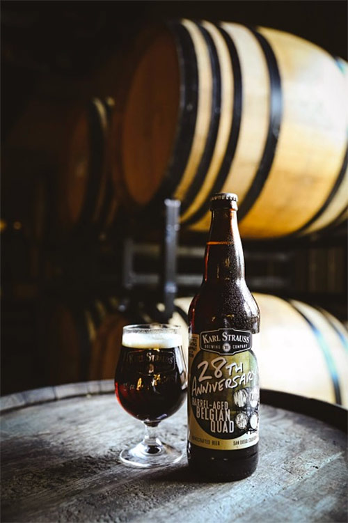 Karl Strauss Releases Barrel-aged Two Tortugas to Celebrate 28th Anniversary photo