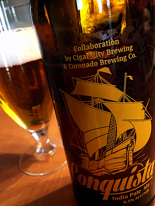 Coronado and Cigar City Conquista IPA photo