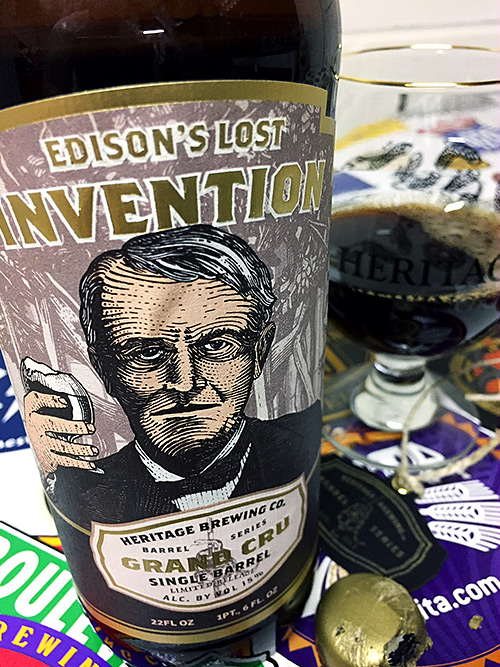 Heritage Brewing Edison's Lost Invention photo