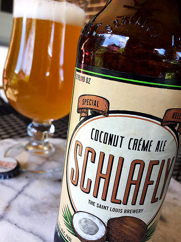 Schlafly Coconut Crème Ale photo