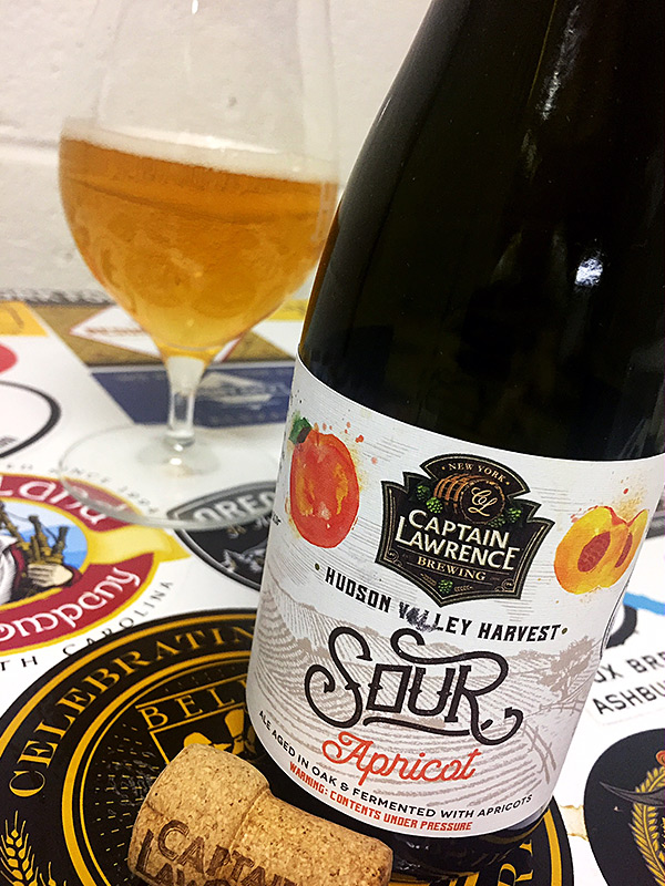 Captain Lawrence Hudson Valley Harvest Apricot Sour photo