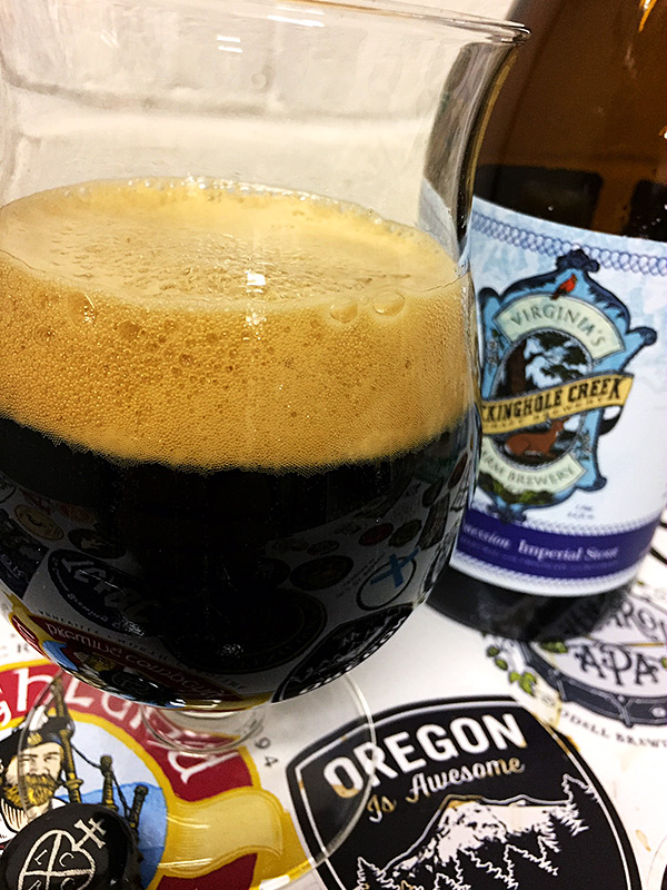 Lickinghole Creek Blueberry Obsession Imperial Stout photo