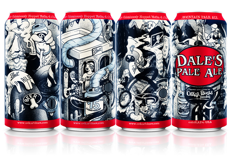 Oskar Blues Releases New 16oz Dale's Pale Ale Draft Cans photo