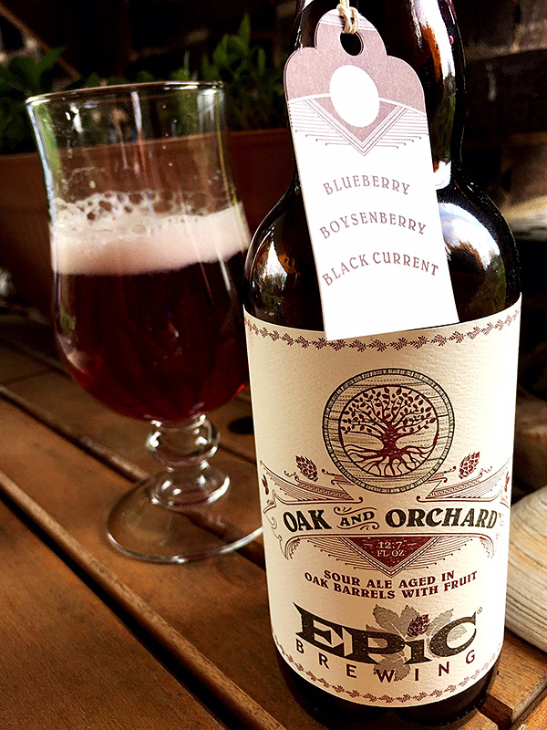 Epic Brewing Oak and Orchard Syrah photo