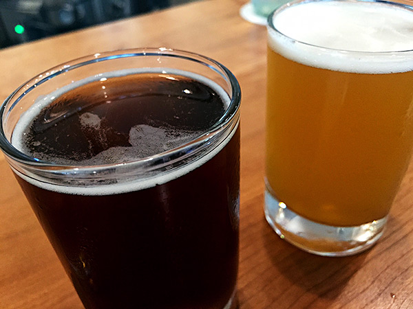 Powers Brewing Spelt Biere de Garde and Session Pale Ale
