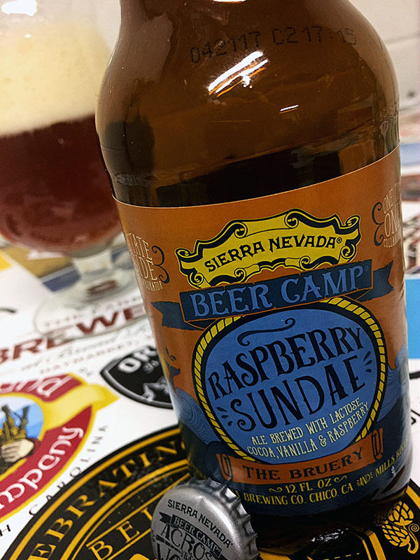 Sierra Nevada Beer Camp Raspberry Sundae Ale photo