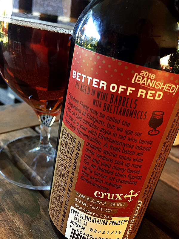 Crux Fermentation Better Off Red photo