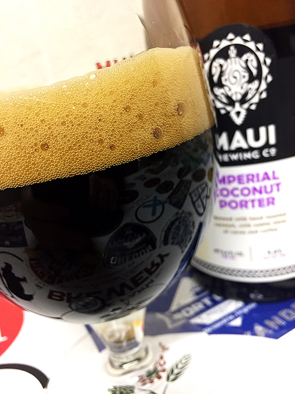Maui Brewing Imperial Coconut Porter photo
