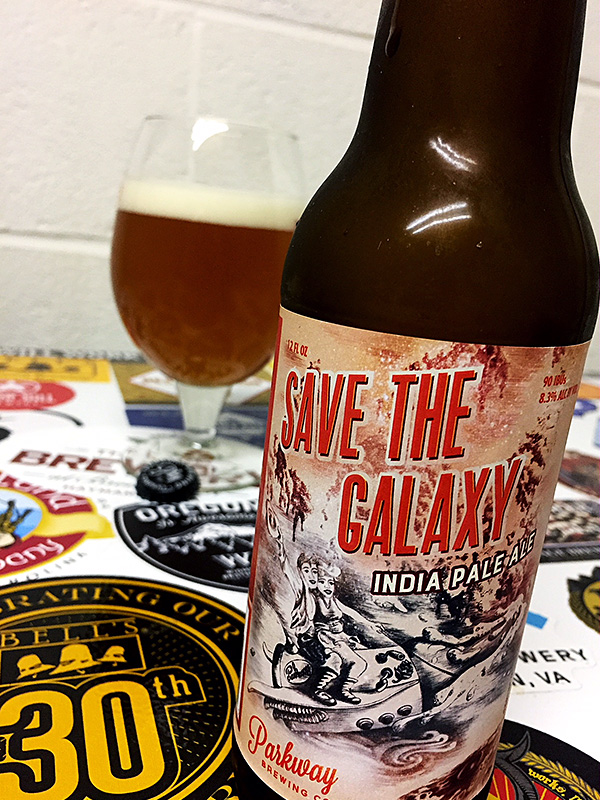 Parkway Brewing Save the Galaxy photo