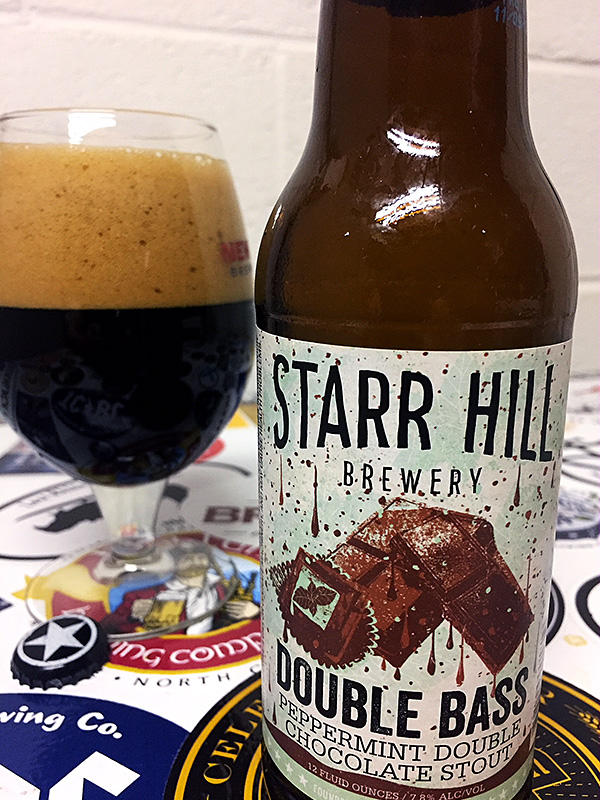 Starr Hill Double Bass Peppermint Double Chocolate Stout photo