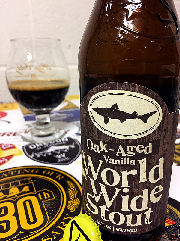 Dogfish Head Oak-aged Vanilla World Wide Stout photo
