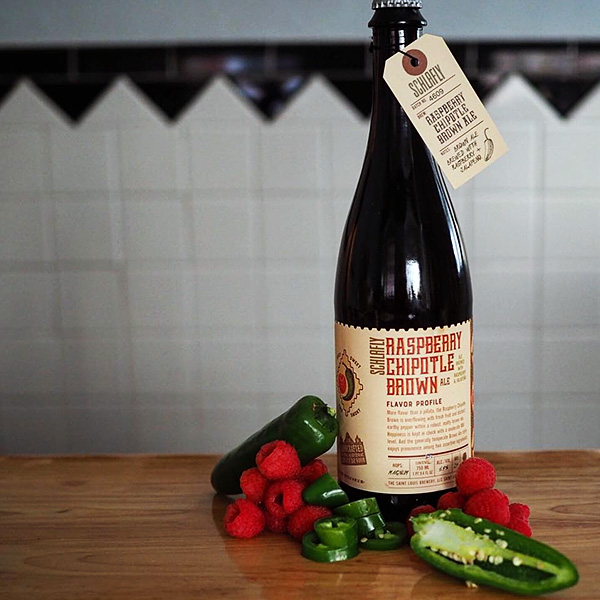 Schlafly Beer Releases Raspberry Chipotle Brown Ale photo