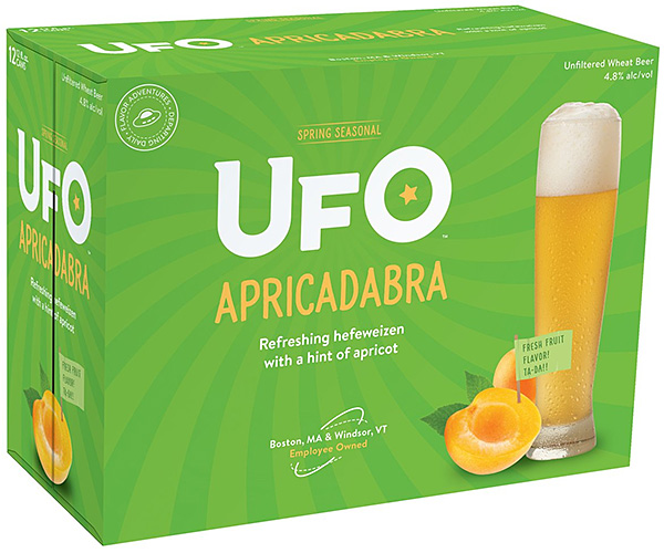 Harpoon Brewery Introducing UFO Apricadabra photo