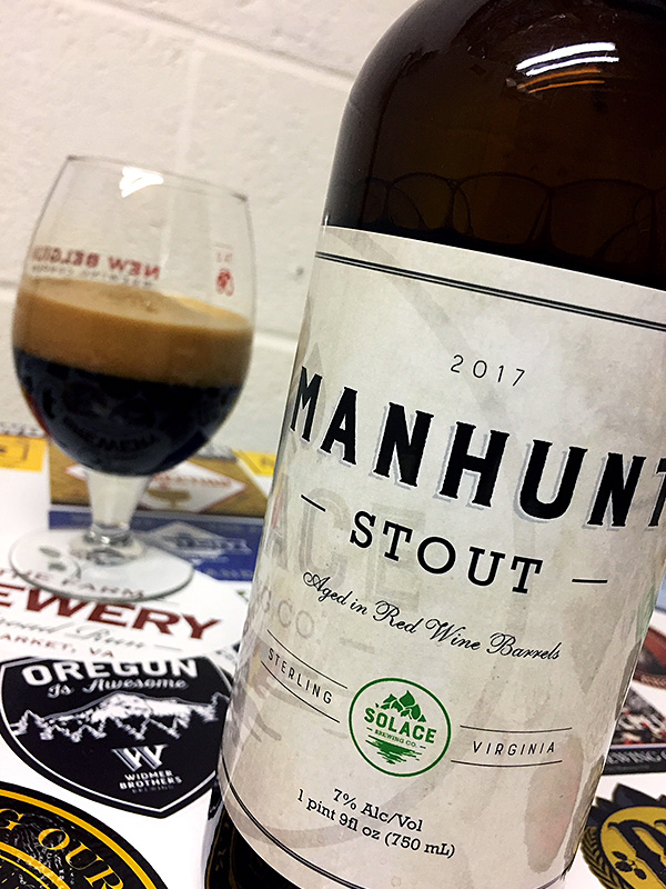 Solace Manhunt Stout photo
