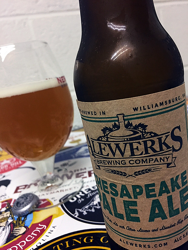 Alewerks Chesapeake Pale Ale photo