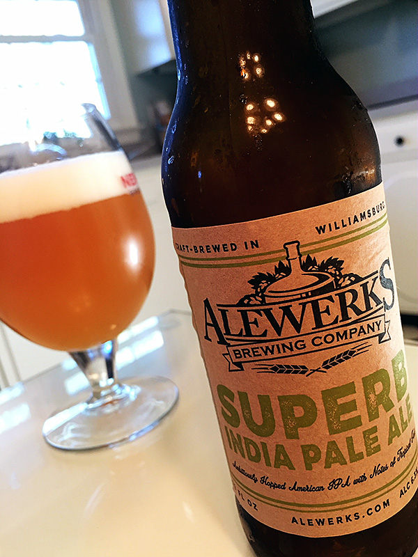 Alewerks Superb IPA photo