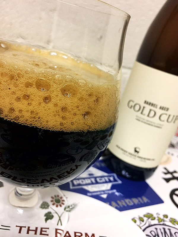 Old Bust Head Barrel Aged Gold Cup photo