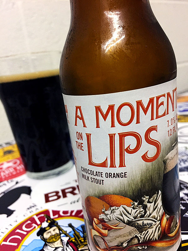 Parkway Brewing A Moment on the Lips photo