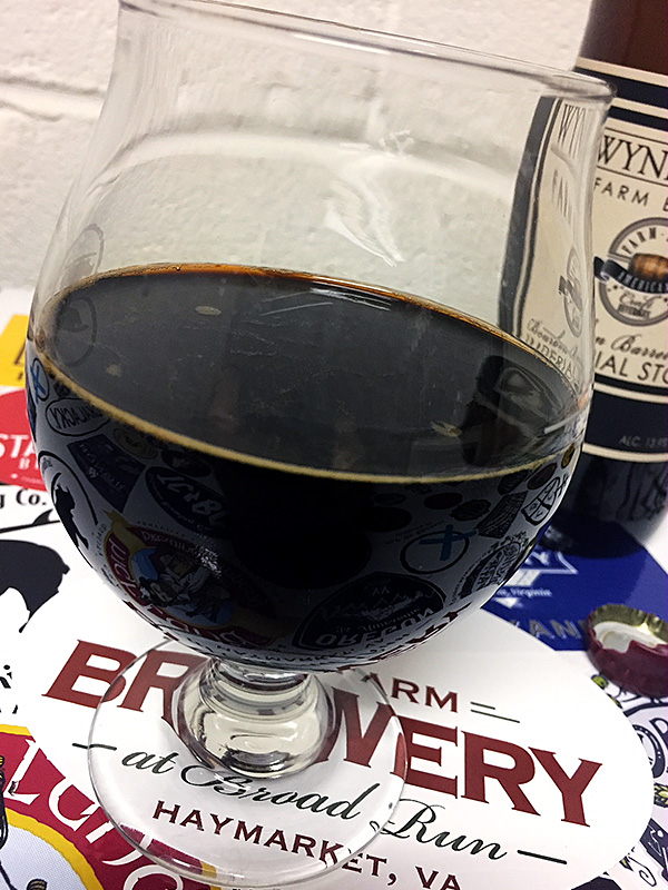 Wyndridge Bourbon Barrel Aged Imperial Stout photo