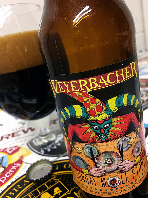 Weyerbacher Sunday Molé Stout photo