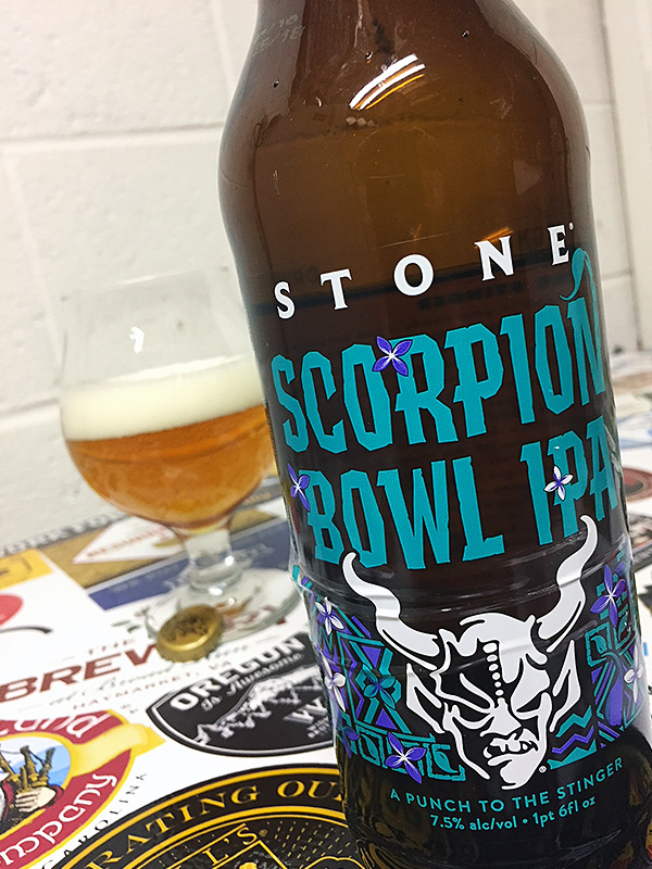 Stone Scorpion Bowl IPA photo
