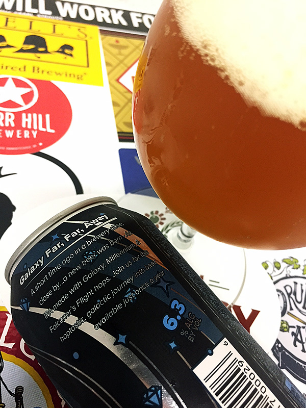 Boojum Brewing Galaxy Far, Far Away IPA photo