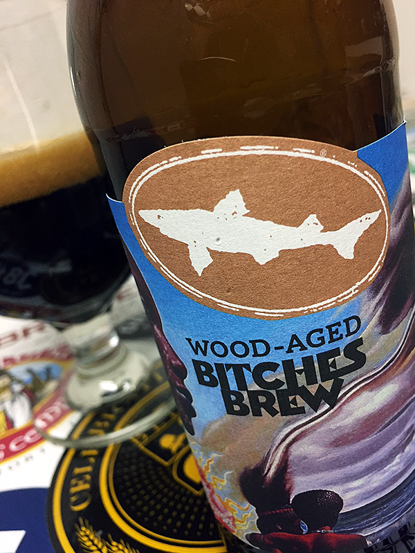 Dogfish Head Wood Aged Bitches Brew photo