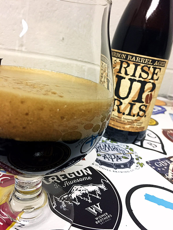 Evolution Bourbon Barrel Aged Rise Up photo