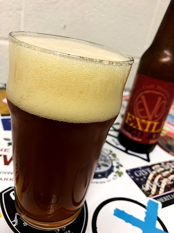 Evolution Exile Red Ale photo