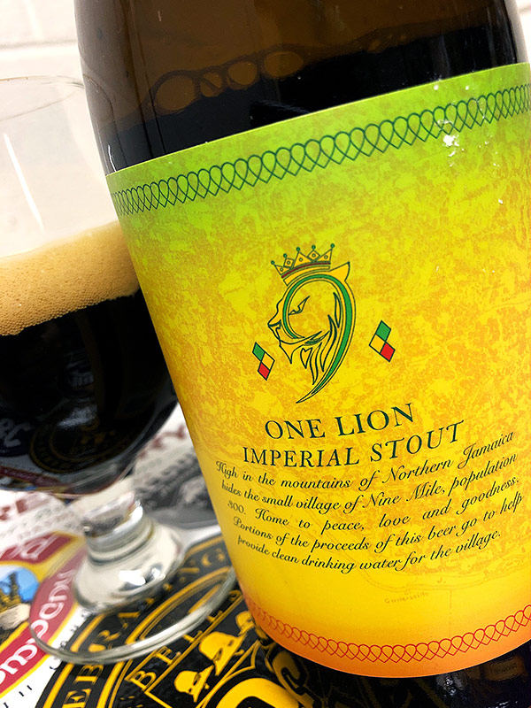 Lickinghole Creek One Lion Imperial Stout photo