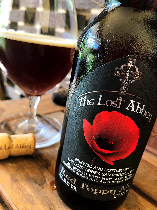 The Lost Abbey Red Poppy photo