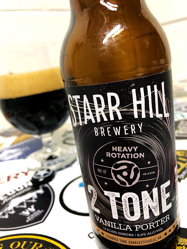 Starr Hill 2 Tone Vanilla Porter photo