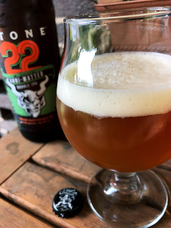 Stone Brewing 22ND Anniversary Anni-Matter Double IPA photo