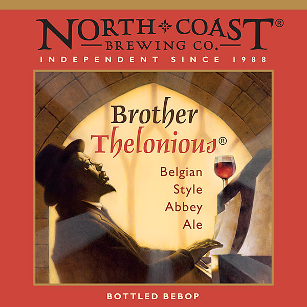 North Coast Brewing Company Reintroduces Brother Thelonious with New Label photo