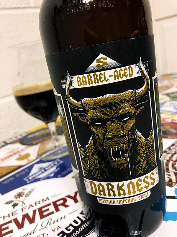 Surly Barrel-Aged Darkness photo