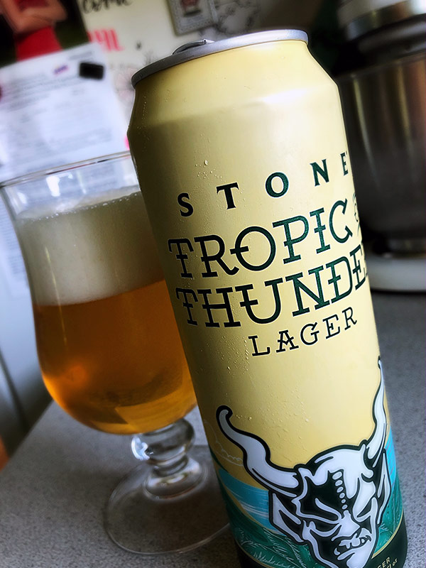 Stone Brewing Tropic of Thunder Lager photo