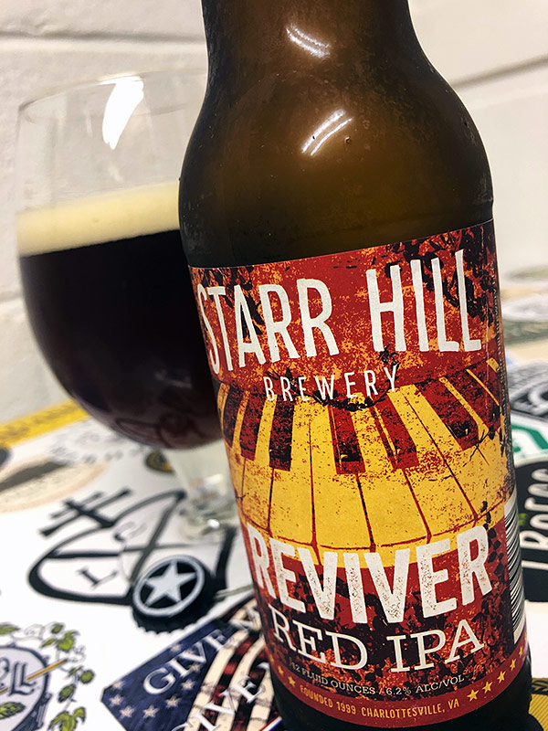 Starr Hill Reviver Red IPA photo