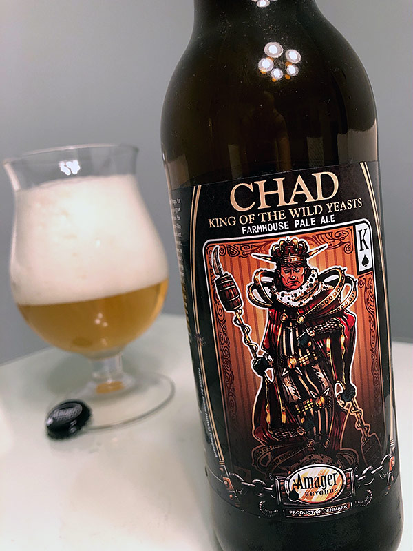 Amager/Crooked Stave Chad King of the Wild Yeasts photo