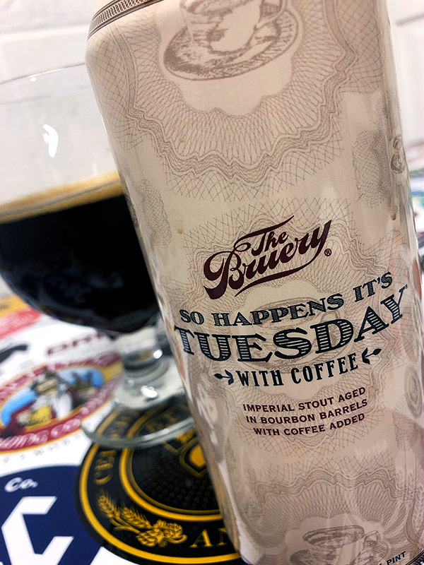 The Bruery So Happens It's Tuesday with Coffee photo