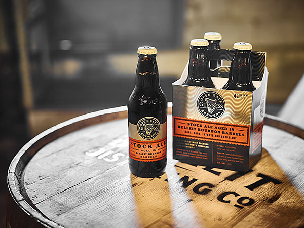 Guinness Announces Release of Stock Ale Aged in Bulleit Bourbon Barrels photo